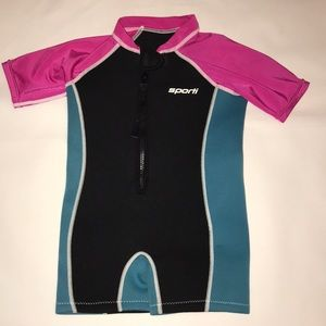 Sporti wetsuit for swimming 4T